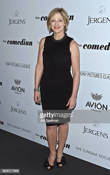 Actress Edie Falco attends the screening of Sony Pictures Classics' 'The Comedian' hosted by The Cinema Society with Avion and Jergens at Museum of...