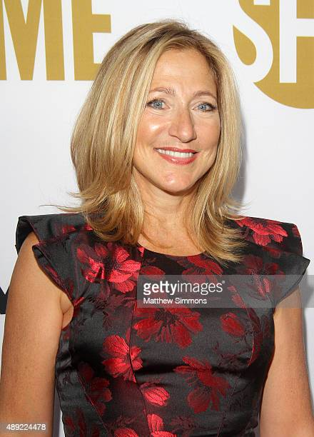 Actress Edie Falco attends the Showtime 2015 Emmy Eve party at Sunset Tower Hotel on September 19 2015 in West Hollywood California