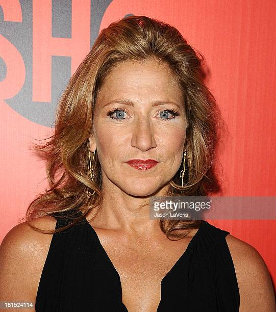 Actress Edie Falco attends the Showtime Emmy eve soiree at Sunset Tower on September 21 2013 in West Hollywood California