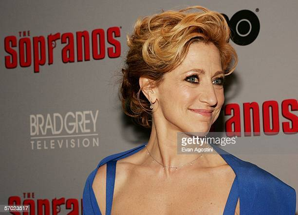 Actress Edie Falco attends the sixth season premiere of the HBO series 'The Sopranos' at the Museum Of Modern Art March 7 2006 in New York City