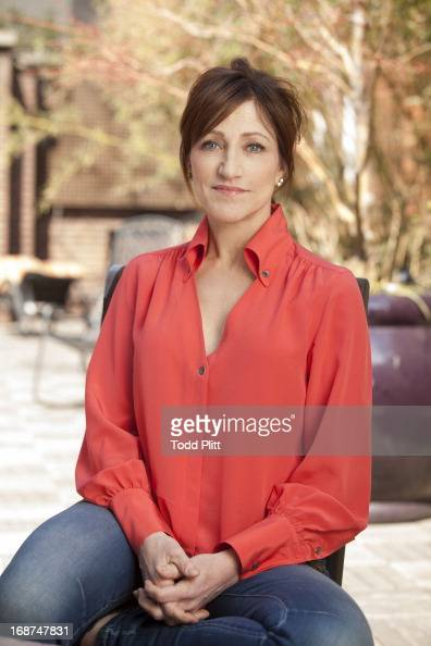 Actress Edie Falco is photographed for USA Today on April 11 2013 in New York City