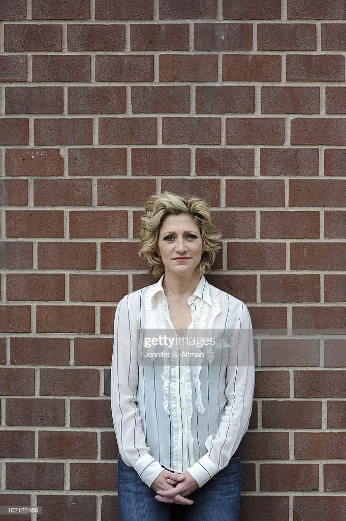 Actress Edie Falco poses at a portrait session for the Los Angeles Times in New York, NY on June 9, 2010. (Photo by Jennifer S. Altman/ Contour by Getty Images).