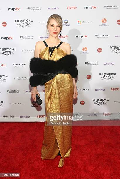 Actress Edith Gonzalez attends the 40th Annual International Emmy Awards at the Hilton New York on November 19 2012 in New York City