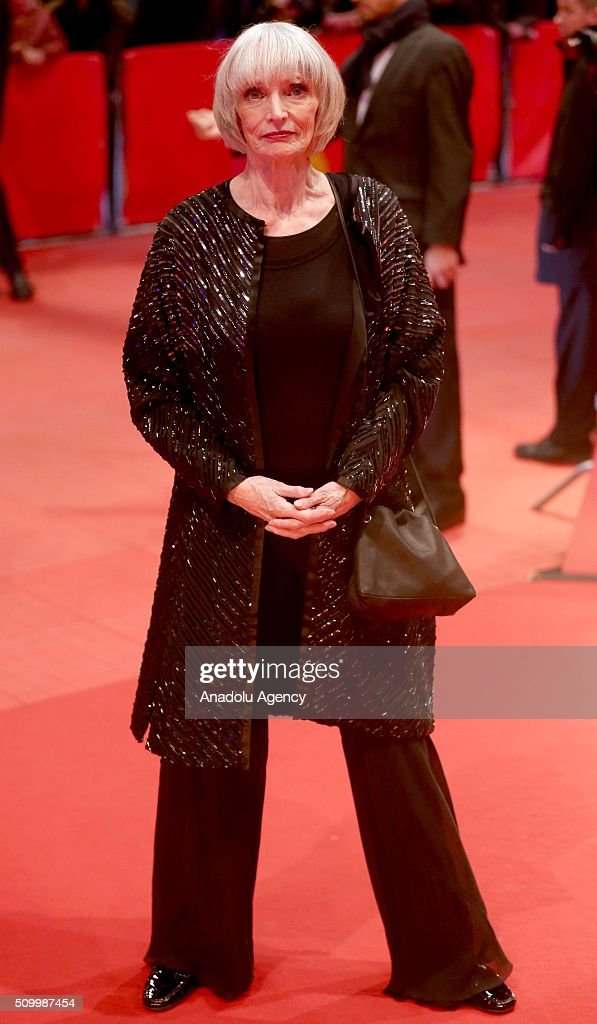 Actress Edith Scob attends the 'Things to Come' (L'avenir) premiere during the 66th Berlinale International Film Festival Berlin at Berlinale Palace on February 13, 2016 in Berlin, Germany.