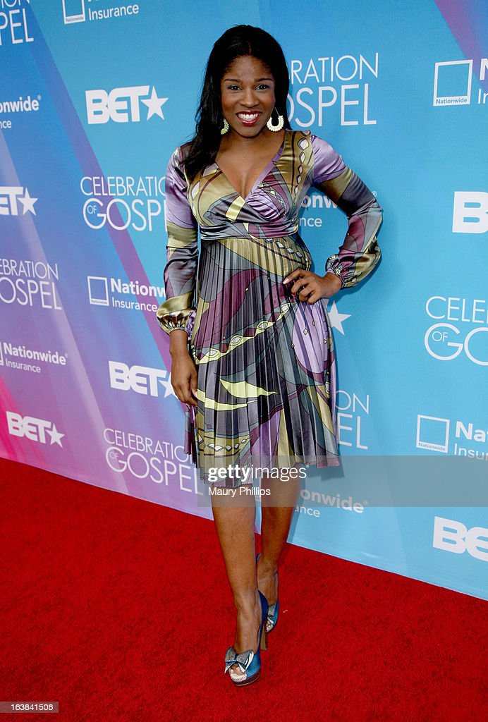 Actress Edwina Findley attends the BET Celebration of Gospel 2013 at Orpheum Theatre on March 16, 2013 in Los Angeles, California.