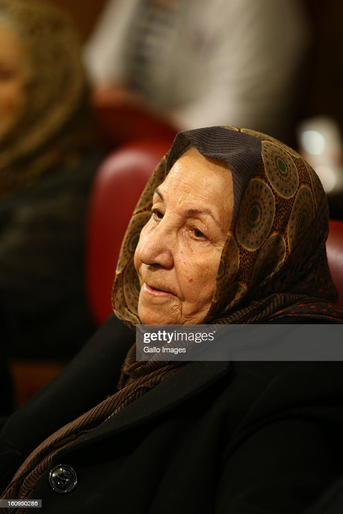 Actress Ehteramsadat Habibian at Day 8 of the 31th International Fajr Film Festival on February 7, 2013 in Tehran, Iran. Organized by the Ministry of Culture and Islamic Guidance, the Film Festival is the most important film event in the country.