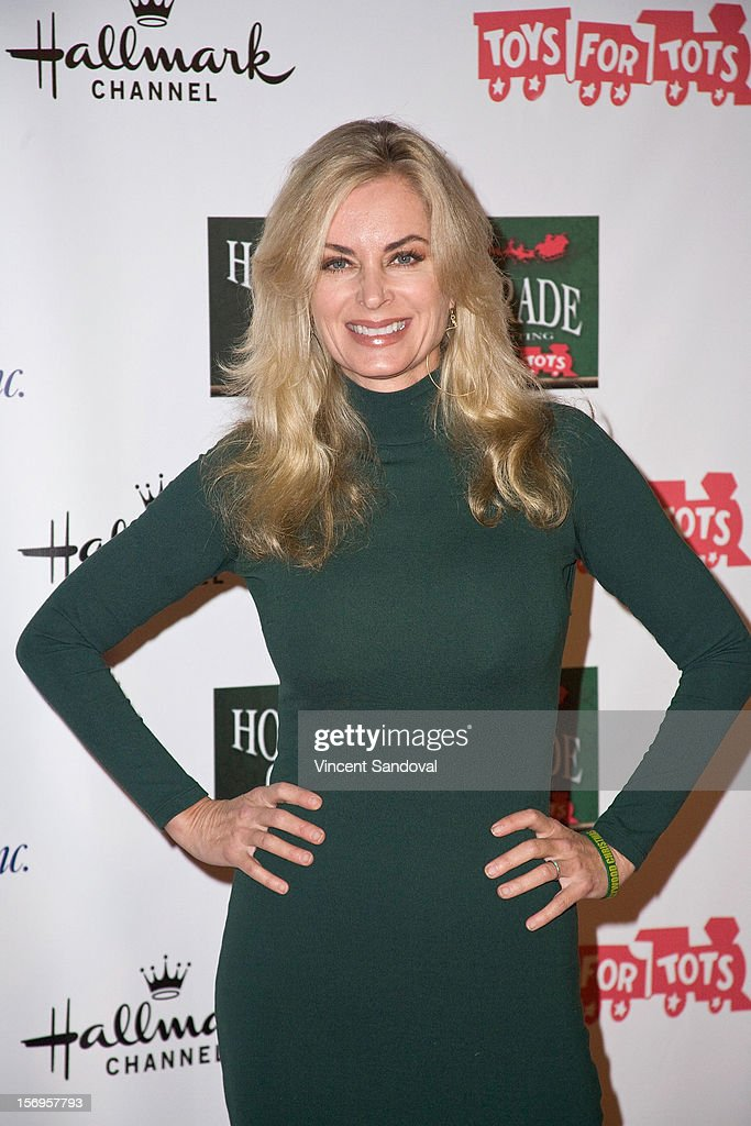 Actress Eileen Davidson attends the 2012 Hollywood Christmas Parade Benefiting Marine Toys For Tots on November 25, 2012 in Los Angeles, California.