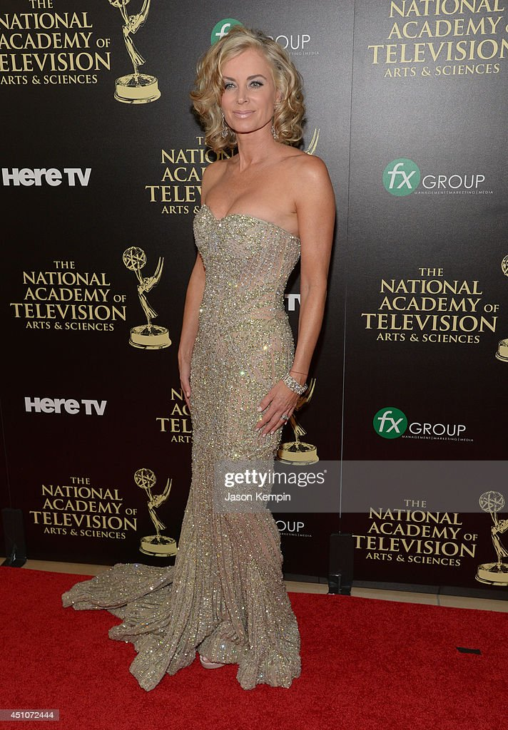 Actress <a gi-track='captionPersonalityLinkClicked' href=/galleries/search?phrase=Eileen+Davidson&family=editorial&specificpeople=663986 ng-click='$event.stopPropagation()'>Eileen Davidson</a> attends The 41st Annual Daytime Emmy Awards at The Beverly Hilton Hotel on June 22, 2014 in Beverly Hills, California.