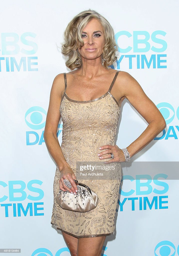 Actress <a gi-track='captionPersonalityLinkClicked' href=/galleries/search?phrase=Eileen+Davidson&family=editorial&specificpeople=663986 ng-click='$event.stopPropagation()'>Eileen Davidson</a> attends the 41st Annual Daytime Emmy Awards CBS after party at The Beverly Hilton Hotel on June 22, 2014 in Beverly Hills, California.