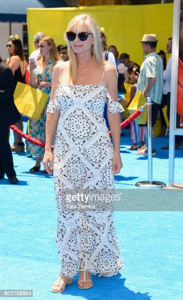Actress Eileen Davidson attends the premiere of Columbia Pictures and Sony Pictures Animation's 'The Emoji Movie' at Regency Village Theatre on July...