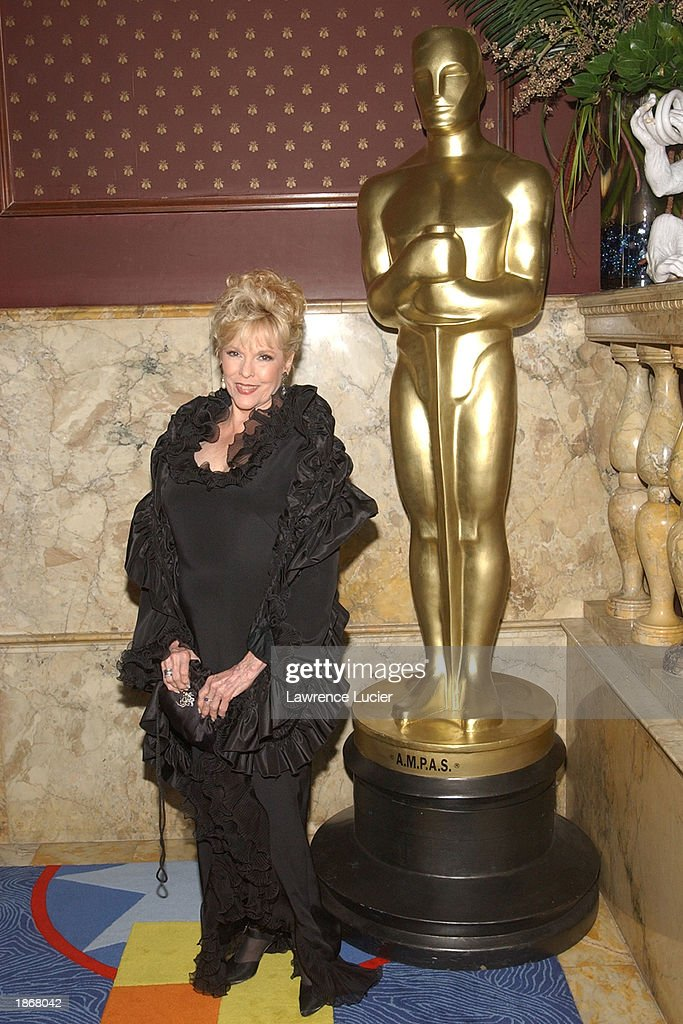 Actress Eileen Fulton arrives at the official Academy of Motion Picture Arts & Sciences Oscar Night Viewing Party at Le Cirque 2000 restaurant March 23, 2003 in New York City.