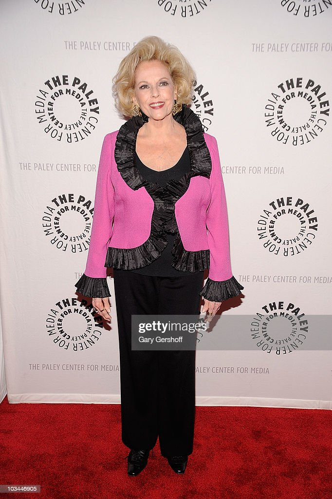 Actress Eileen Fulton attends a farewell to cast of 'As The World Turns' at The Paley Center for Media on August 18, 2010 in New York City.