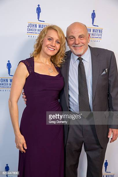 Actress Eileen Gurbba and Actor Carmen Argenziano attends the John Wayne Odyssey Ball at the Beverly Wilshire Four Seasons Hotel on April 9 2016 in...