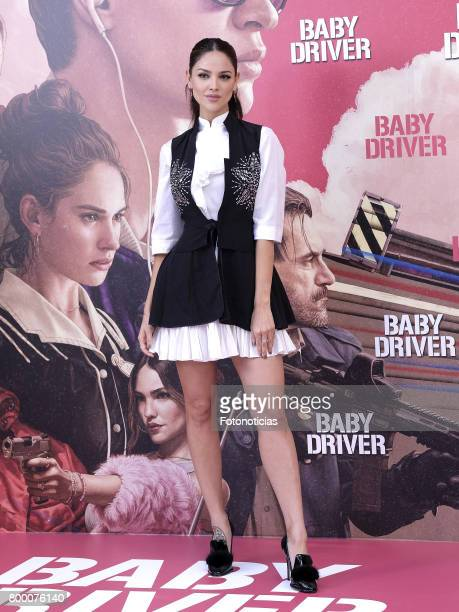 Actress Eiza Gonzalez a attends a photocall for 'Baby Driver' at the Villa Magna Hotel on June 23 2017 in Madrid Spain