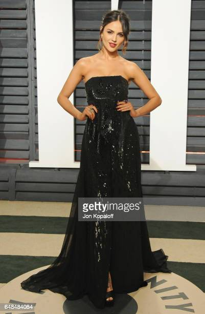 Actress Eiza Gonzalez arrives at the 2017 Vanity Fair Oscar Party Hosted By Graydon Carter at Wallis Annenberg Center for the Performing Arts on...