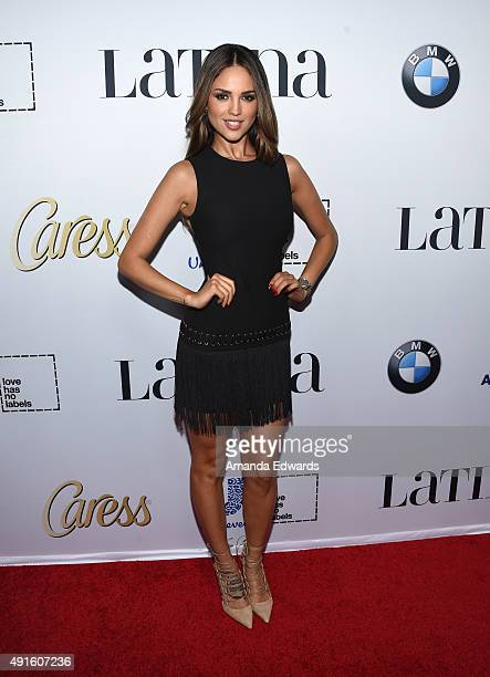 Actress Eiza Gonzalez arrives at the Latina 'Hot List' Party hosted by Latina Media Ventures at The London West Hollywood on October 6 2015 in West...
