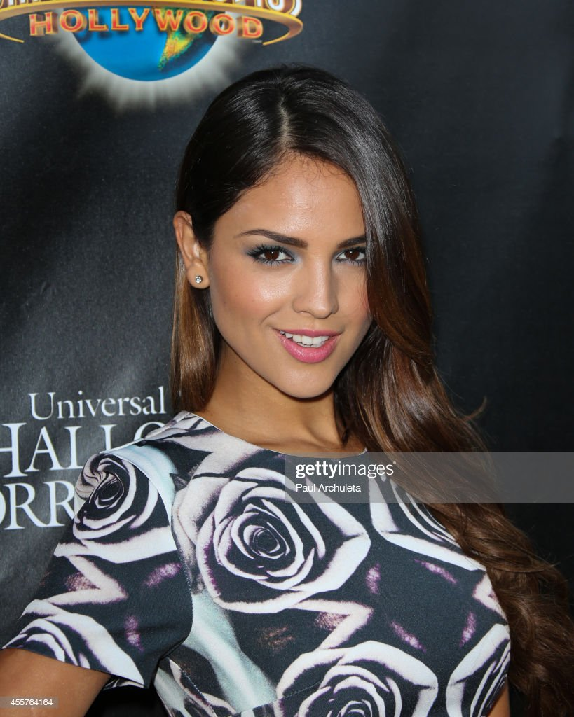 Actress Eiza Gonzalez attends 'Halloween Horror Nights' and the annual 'Eyegore Awards' at Universal Studios Hollywood on September 19 2014 in...