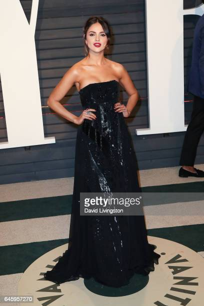 Actress Eiza Gonzalez attends the 2017 Vanity Fair Oscar Party hosted by Graydon Carter at the Wallis Annenberg Center for the Performing Arts on...