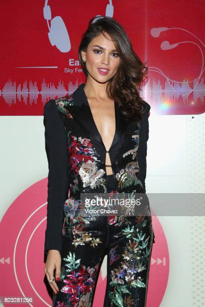 Actress Eiza Gonzalez attends the 'Baby Driver' Mexico City premier at Cinemex Antara Polanco on July 26 2017 in Mexico City Mexico
