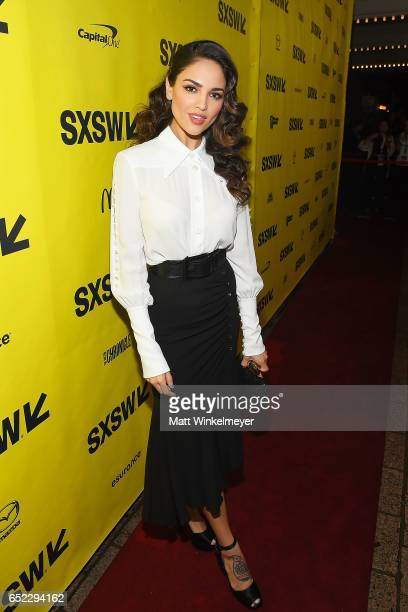 Actress Eiza Gonzalez attends the 'Baby Driver' premiere 2017 SXSW Conference and Festivals on March 11 2017 in Austin Texas