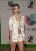 Actress Eiza Gonzalez attends the Premios Juventud 2013 at Bank United Center on July 18 2013 in Miami Florida