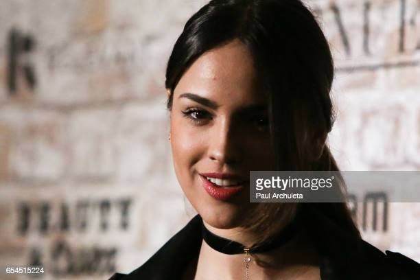 Actress Eiza Gonzalez attends the TAO Beauty and Essex Avenue and Luchini LA Grand Opening on March 16 2017 in Los Angeles California