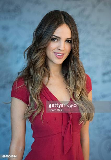 Actress Eiza Gonzalez of 'From Dusk Til Dawn The Series' attends AOL Build at AOL Studios in New York on October 9 2015 in New York City