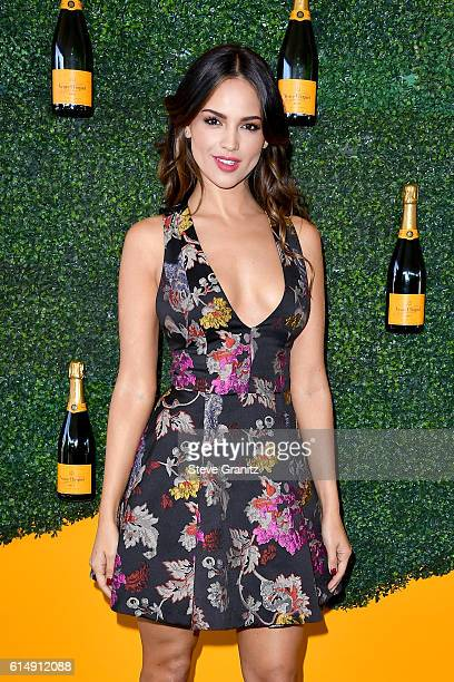 Actress Eiza Gonzalez Reyna attends the Seventh Annual Veuve Clicquot Polo Classic at Will Rogers State Historic Park on October 15 2016 in Pacific...