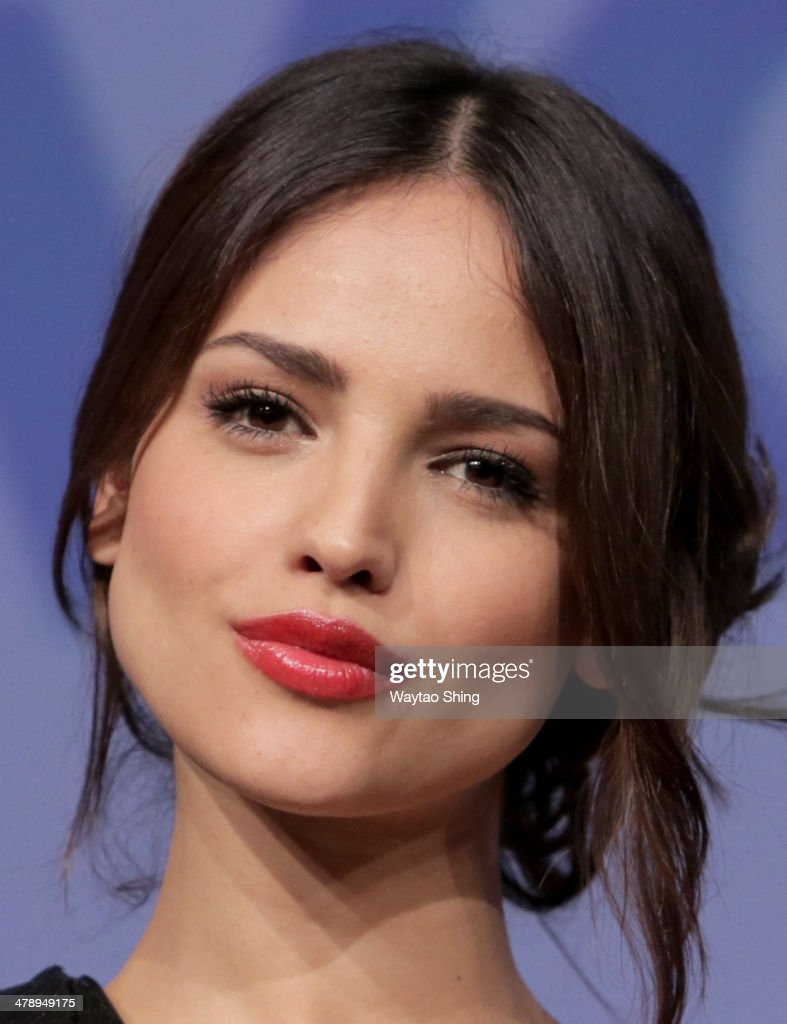 Actress Eiza Gonzalez speaks onstage at 'From Dusk Till Dawn The Series' Pilot Photo Op and QA during the 2014 SXSW Music Film Interactive Festival...