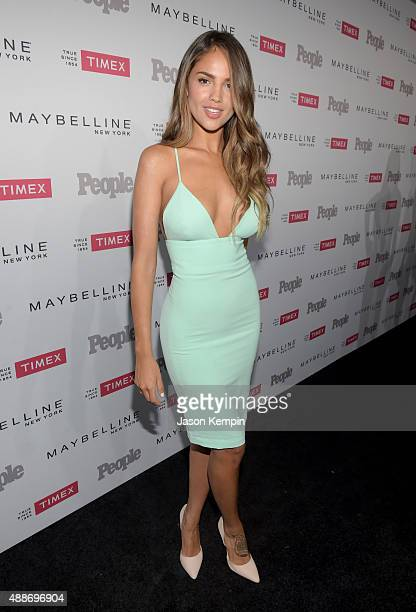 Actress Eiza González attends PEOPLE's Ones To Watch Event on September 16 2015 in West Hollywood California