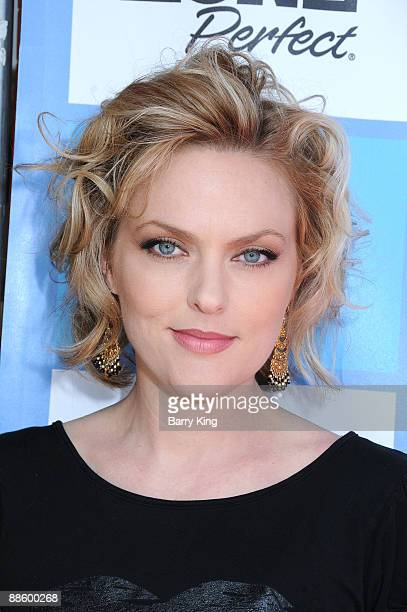Actress Elaine Hendrix attends the 2009 Los Angeles Film Festival Netflix Private Dear Lemon Lima Screening and QA held at the Majestic Crest Theatre...
