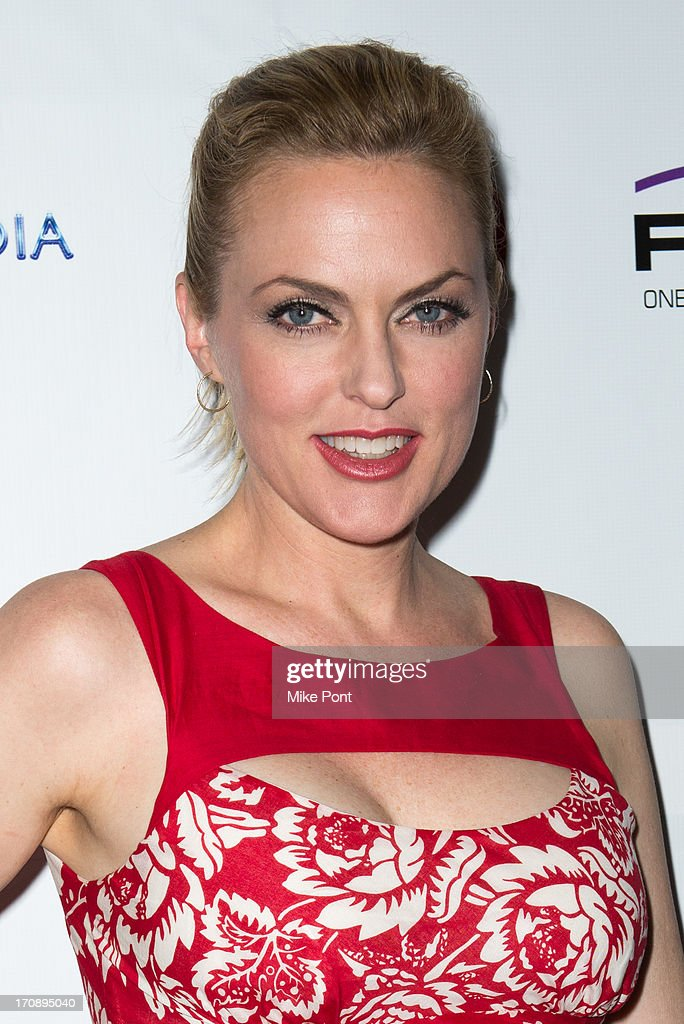 Actress <a gi-track='captionPersonalityLinkClicked' href=/galleries/search?phrase=Elaine+Hendrix&family=editorial&specificpeople=584608 ng-click='$event.stopPropagation()'>Elaine Hendrix</a> attends The Inaugural St. Jude Spring Social at Noir NYC on June 19, 2013 in New York City.