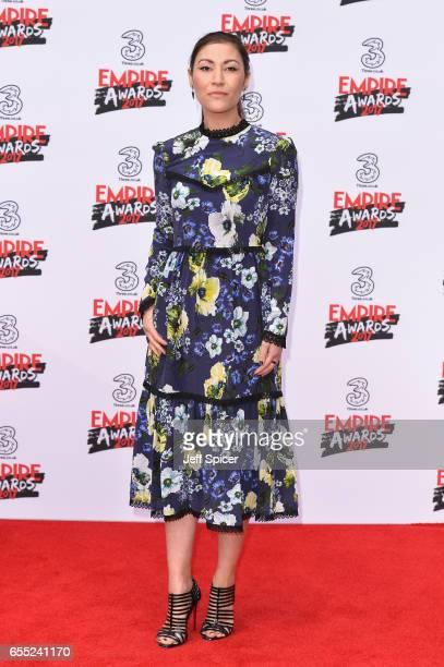 Actress Eleanor Matsuura attends the THREE Empire awards at The Roundhouse on March 19 2017 in London England