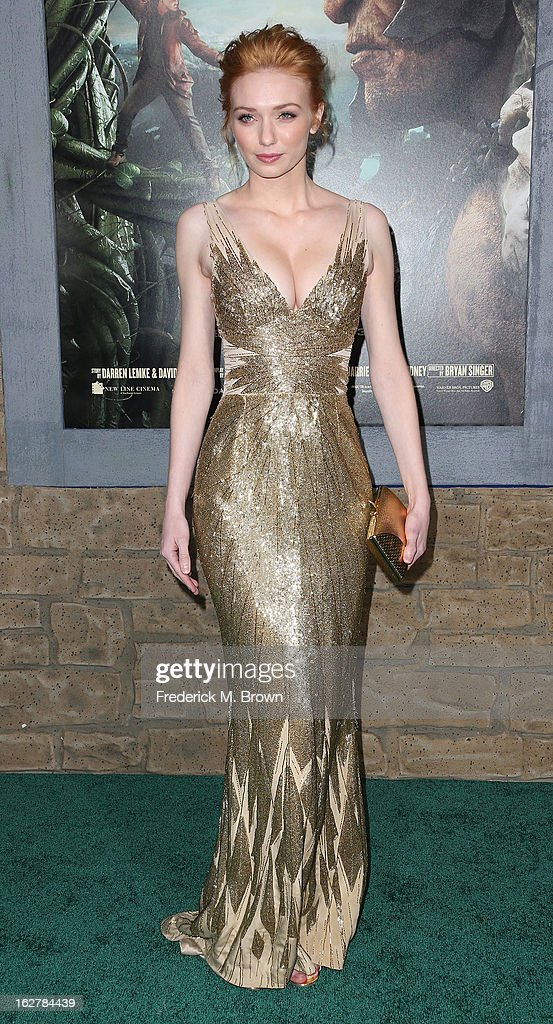 Actress Eleanor Tomlinson attends the Premiere Of New Line Cinema's 'Jack The Giant Slayer' at the TCL Chinese Theatre on February 26, 2013 in Hollywood, California.