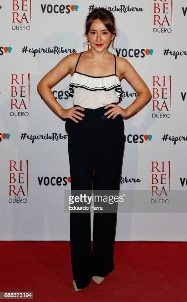 Actress Elena Alferez attends the '#espiriturivera' photocall at Soho disco on May 25 2017 in Madrid Spain