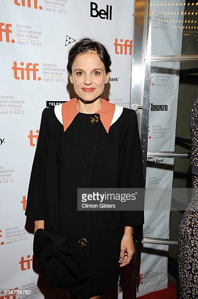 Actress Elena Anaya arrives at 'The Skin I Live In' Premiere at the Princess of Wales Theatre on September 11 2011 in Toronto Canada