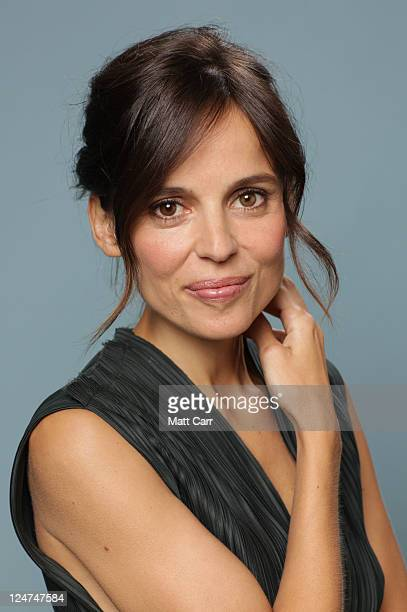 Actress Elena Anaya of 'The Skin I Live In' poses during the 2011 Toronto Film Festival at Guess Portrait Studio on September 12 2011 in Toronto...