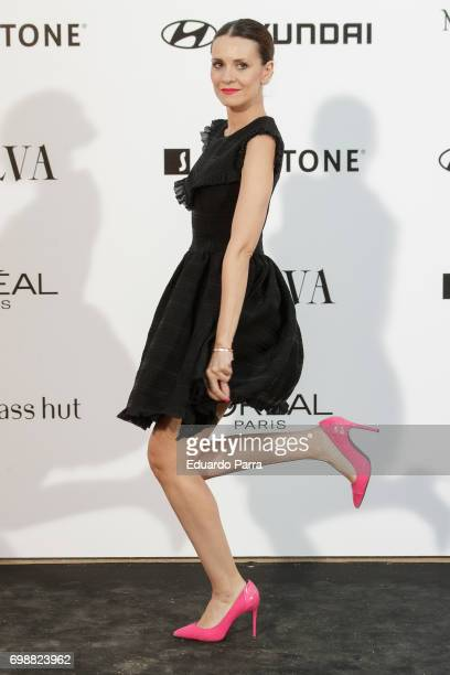 Actress Elena Ballesteros attends the 'La Moda en la calle by Telva' event at Las Ventas bullring on June 20 2017 in Madrid Spain