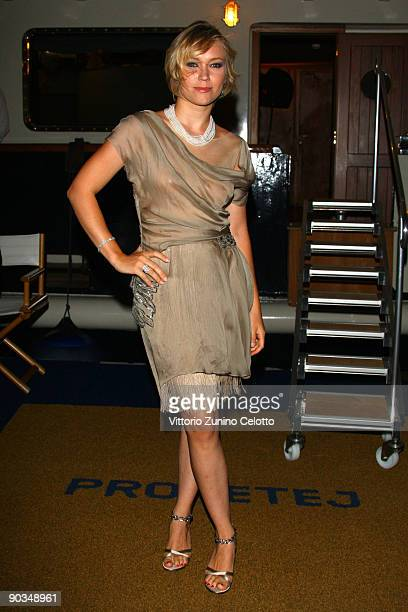 Actress Elena Bouryka attends the 'Bad Lieutenant Port Of Call New Orleans Afterparty during the 66th Venice Film Festival on September 4 2009 in...