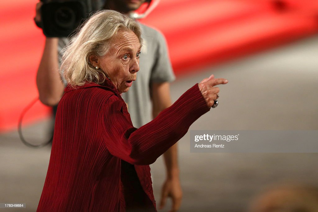 Actress <a gi-track='captionPersonalityLinkClicked' href=/galleries/search?phrase=Elena+Cotta&family=editorial&specificpeople=11308432 ng-click='$event.stopPropagation()'>Elena Cotta</a> attends the 'Via Castellana Bandiera' premiere during the 70th Venice International Film Festival at the Palazzo del Cinema on August 29, 2013 in Venice, Italy.