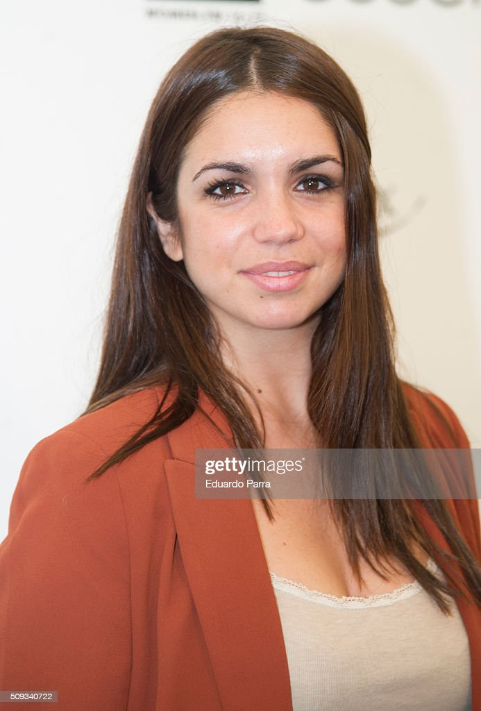 Actress <a gi-track='captionPersonalityLinkClicked' href=/galleries/search?phrase=Elena+Furiase&family=editorial&specificpeople=4388104 ng-click='$event.stopPropagation()'>Elena Furiase</a> attends Couchel fashion show photocall at Colon Square on February 10, 2016 in Madrid, Spain.
