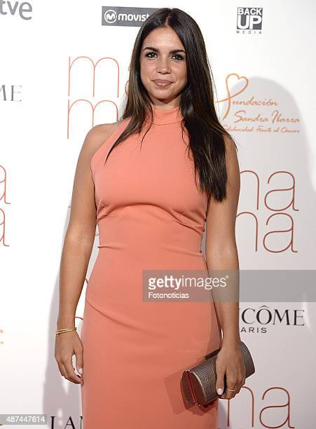 Actress Elena Furiase attends the 'Ma Ma' Premiere at the Capitol Cinema on September 9 2015 in Madrid Spain