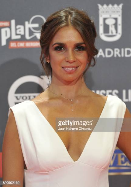 Actress Elena Furiase attends the 'Platino Awards 2017' photocall at La Caja Magica on July 22 2017 in Madrid Spain