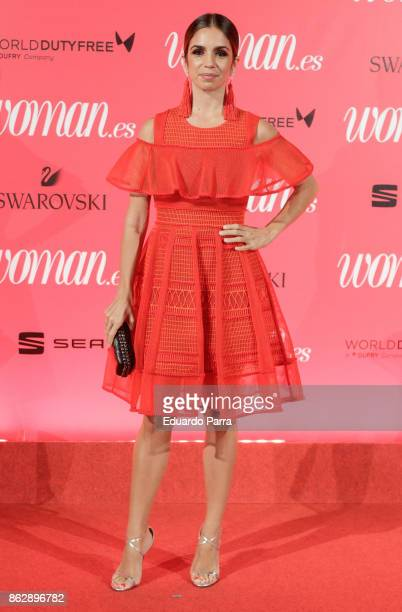 Actress Elena Furiase attends the 'Woman 25th anniversary' photocall at Madrid Casino on October 18 2017 in Madrid Spain
