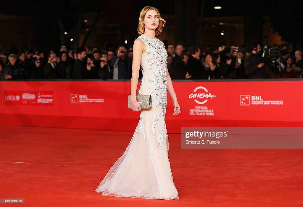 Actress Elena Radonicich attends the 'Tutto Parla Di Te' Premiere during the 7th Rome Film Festival at the Auditorium Parco Della Musica on November 15, 2012 in Rome, Italy.