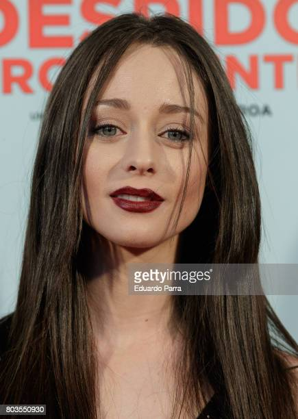 Actress Elena Rivera attends the 'Despido procedente' photocall at Callao cinema on June 29 2017 in Madrid Spain