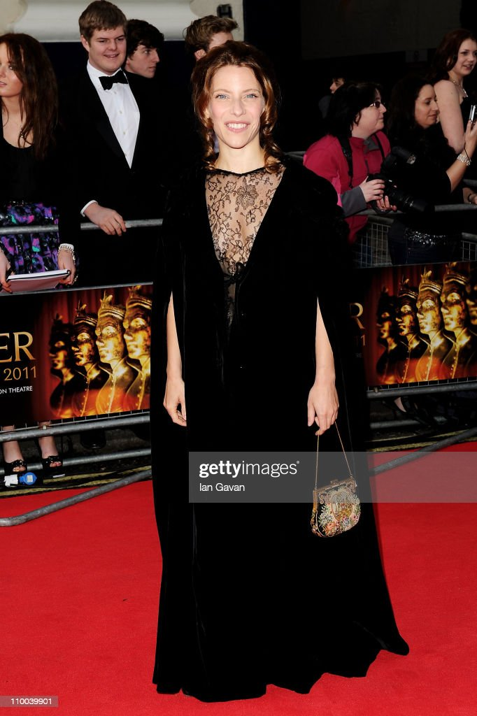 Actress Elena Roger attends The Olivier Awards 2011 at Theatre Royal on March 13, 2011 in London, England.