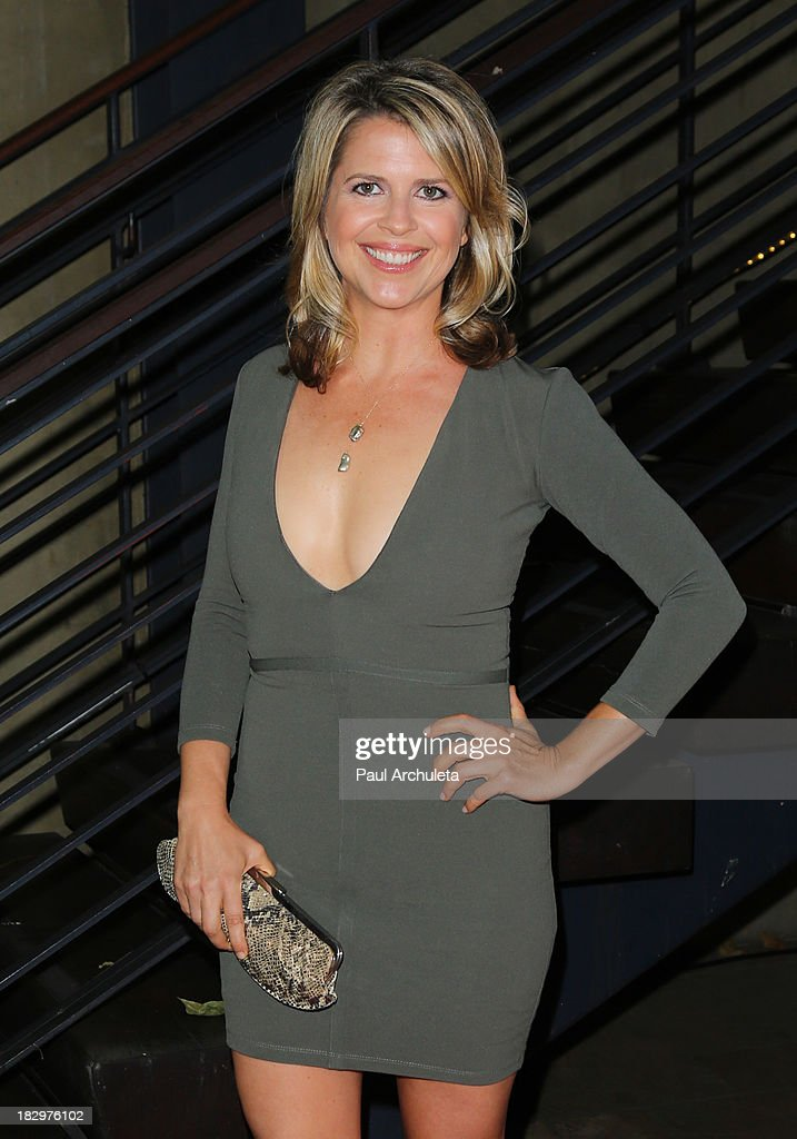Actress Elena Schuber attends the Actors For Autism presenting Reach For The Stars honoring Joe Mantegna at Rockwell on October 2, 2013 in Los Angeles, California.