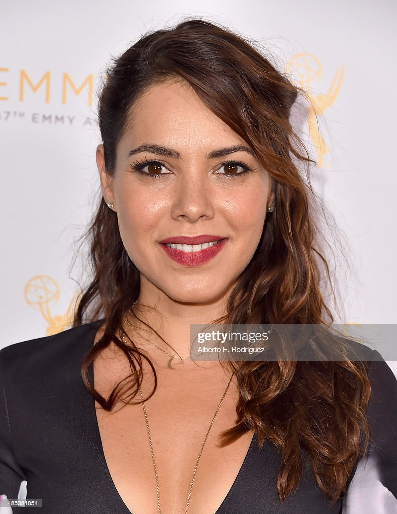 Actress Elena Tobar attends a cocktail reception hosted by the Academy of Television Arts & Sciences celebrating the Daytime Peer Group at Montage Beverly Hills on August 26, 2015 in Beverly Hills, California.