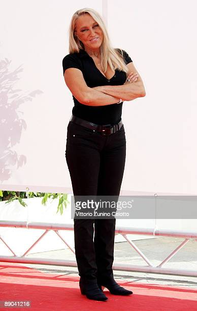Actress Eleonora Giorgi attends a photocall during the 2009 Giffoni Experience on July 15 2009 in Salerno Italy